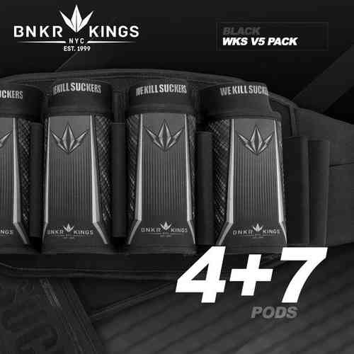 BunkerKings 4 + 7 harmaa  V5 harness