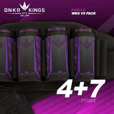 BunkerKings 4 + 7 purple V5